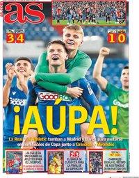 capa Jornal As de 7 fevereiro 2020