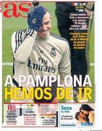 capa Jornal As de 9 fevereiro 2020