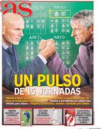 capa Jornal As de 11 fevereiro 2020