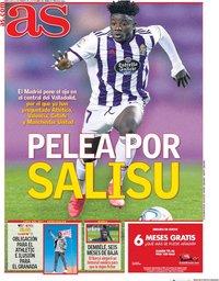 capa Jornal As de 12 fevereiro 2020