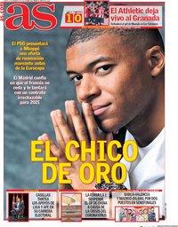 capa Jornal As de 13 fevereiro 2020