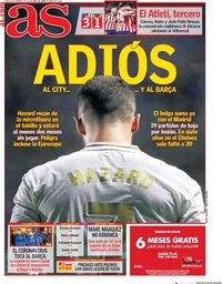 capa Jornal As de 24 fevereiro 2020