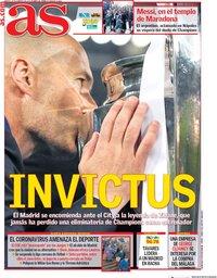 capa Jornal As de 25 fevereiro 2020
