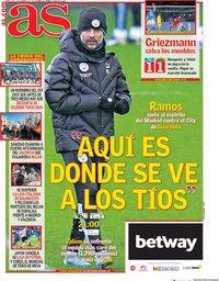 capa Jornal As de 26 fevereiro 2020