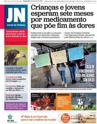 capa Jornal de Notícias de 5 fevereiro 2020