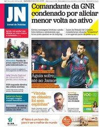 capa Jornal de Notícias de 12 fevereiro 2020