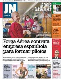capa Jornal de Notícias de 15 fevereiro 2020
