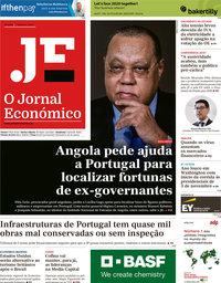 capa Jornal Económico de 7 fevereiro 2020