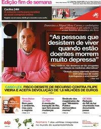 capa Jornal i de 7 fevereiro 2020