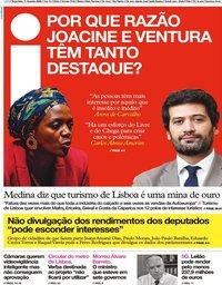 capa Jornal i de 11 fevereiro 2020