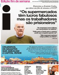 capa Jornal i de 14 fevereiro 2020