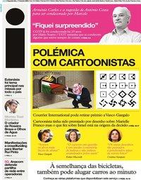 capa Jornal i de 17 fevereiro 2020