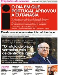 capa Jornal i de 21 fevereiro 2020