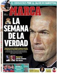 capa Jornal Marca de 24 fevereiro 2020