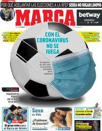 capa Jornal Marca de 25 fevereiro 2020