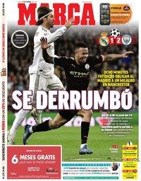 capa Jornal Marca de 27 fevereiro 2020