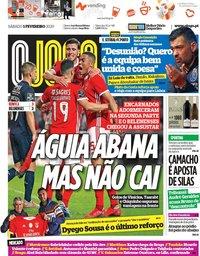 capa Jornal O Jogo de 1 fevereiro 2020