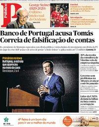 capa Público de 5 fevereiro 2020