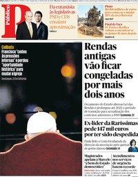 capa Público de 13 fevereiro 2020