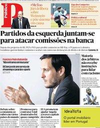 capa Público de 18 fevereiro 2020