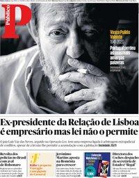 capa Público de 22 fevereiro 2020
