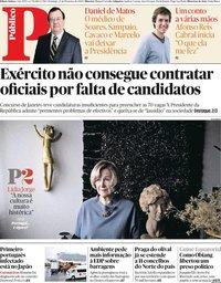 capa Público de 23 fevereiro 2020