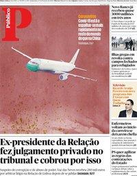 capa Público de 27 fevereiro 2020