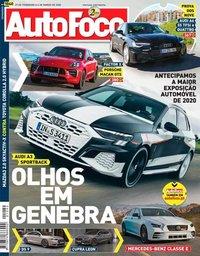 capa Revista Auto Foco de 27 fevereiro 2020