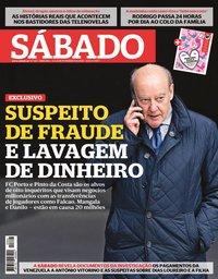 capa Revista Sábado de 6 fevereiro 2020