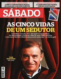 capa Revista Sábado de 20 fevereiro 2020