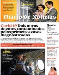 capa Diário de Notícias de 4 março 2020