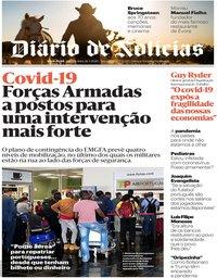 capa Diário de Notícias de 26 março 2020