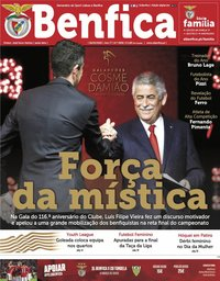 capa Jornal Benfica de 6 março 2020