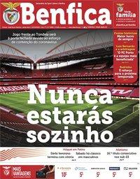 capa Jornal Benfica de 13 março 2020