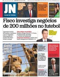 capa Jornal de Notícias de 5 março 2020