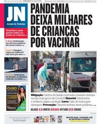 capa Jornal de Notícias de 26 março 2020