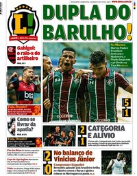 capa Jornal Lance! Rio de Janeiro de 2 março 2020