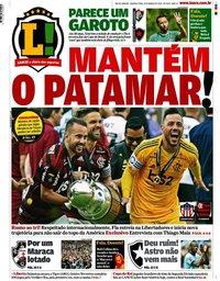 capa Jornal Lance! Rio de Janeiro de 4 março 2020