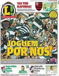 capa Jornal Lance! Rio de Janeiro de 10 março 2020