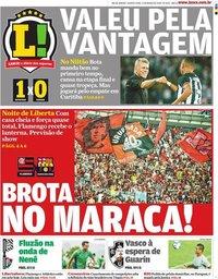 capa Jornal Lance! Rio de Janeiro de 11 março 2020