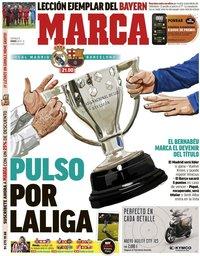 capa Jornal Marca de 1 março 2020