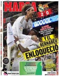 capa Jornal Marca de 2 março 2020