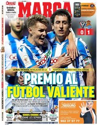 capa Jornal Marca de 5 março 2020