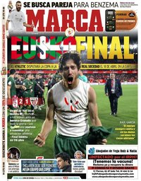 capa Jornal Marca de 6 março 2020