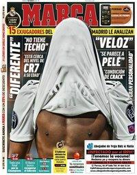 capa Jornal Marca de 7 março 2020