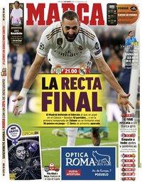 capa Jornal Marca de 8 março 2020