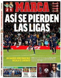 capa Jornal Marca de 9 março 2020