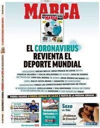 capa Jornal Marca de 10 março 2020