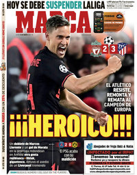 capa Jornal Marca de 12 março 2020