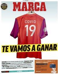 capa Jornal Marca de 13 março 2020